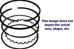 R6794 Std. Piston Ring Set Replaces Kohler 220801