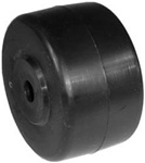 "R6909 - 3"" X 1.75"" Deck Wheel with 1-7/8"" Centered Hub, 7/16"" Center Hole Replaces Sears Craftsman 109729X"