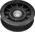 R7978 Flat Idler Pulley Replaces Murray 421409MA