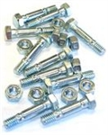 R8627 Pack of 10 Snowblower Shear Pins & Nuts replace MTD 710-0890A