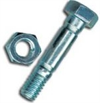 R8628 Snowblower Shear Pin & Nut Replaces MTD 910-0891