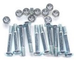 R917 Pack of 10 Snowblower Shear Pins & Lock Nuts Replace Ariens 51001600