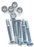 R917 Pack of 5 Snowblower Shear Pins & Lock Nuts Replace Ariens 51001600