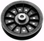 R9844 Flat Idler Pulley Replaces Scag 48473