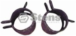 "120-122 Pack of Two 5/16"" Hose Clamps"