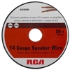 RCA Basic AH1450SN Speaker Wire - 50 ft