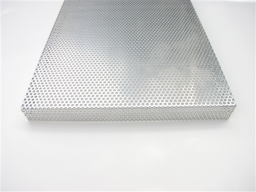 Custom Speaker Grill Aluminum: Made to Order Metal Speaker Cover - CG8