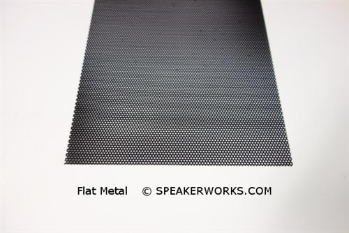 Custom Steel Speaker Grill Black: Made to Order Metal Speaker Grill Cover  in Black - CG8B