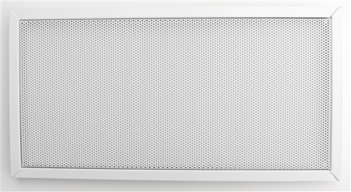 Custom Made Speaker Grill With Trim Frame - Choose Your Size