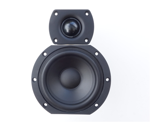 mini 2 way speaker kit matched parts to build a small. Black Bedroom Furniture Sets. Home Design Ideas