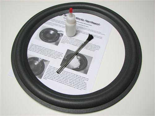 15 Quot Mach I Speaker Repair Kit For Replacing Foam Surrounds