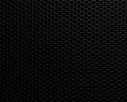 Perforated Steel Powder Coated Black