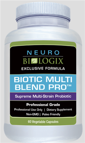 Biotic Multi Blend Pro 60C (Retail $35.50) NEW!