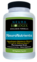 NeuroNutrients with Iron 120C (Retail $26.90)
