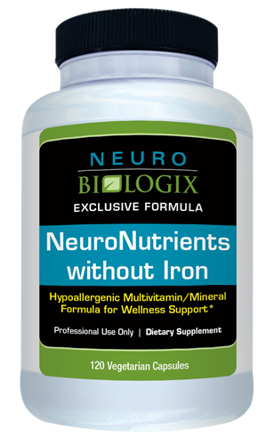 NeuroNutrients without Iron 120C (Retail $26.90)