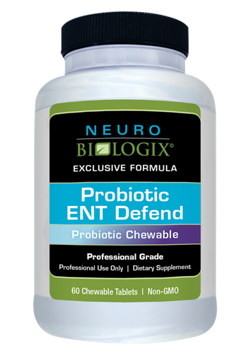 Probiotic ENT Defend 60 Chewables (Retail $45.90)