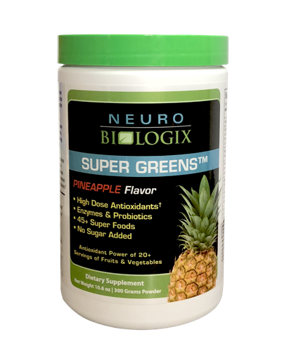Super Greens Pineapple - ORAC levels equal to 20+ servings of fruits and vegetables! / Retail $49.90