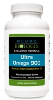Ultra Omega 900 - 90 Sfgls (3 Month Supply-RETAIL $52.90)