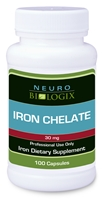 Iron Chelate - 100 Capsules (Retail $22.75)
