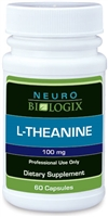 L-Theanine 100 mg 60C (Retail $25.90)