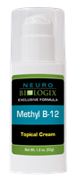 Methyl B-12 Topical Cream (methylcobalamin) 1.8 oz / Retail $35.90