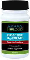 BioActive B12-Folate 60T / Retail $26.90