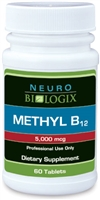 Methyl B12 (methylcobalamin) 60 Lozenges (Retail $35.90)