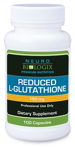 Glutathione (Reduced L-Glutathione) 150 mg (Retail $62.50)