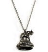 1928 Jewelry Company,elephant necklace, antique silver, silver plated,elephant locket, vintage collection, rope chain, , 30 inches, silver, pendant, necklace, us made, 1928 necklace, B'sue by 1928, B'sue Boutiques, 1928/04882