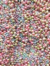 BD02277,  Mermaid Bubbles, Mix, No Hole Pearls, pastel pearls, costume pearls, 1mm pearl, 2mm pearl, 3mm pearl, 4mm pearl, mermaid beads, pearly beads, pearlescent, pearlesque, assemblage jewelry,resin filler, B'sue Boutiques, tiny pearls