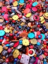 BD02295, Hot Tropix, Boho Jewelry, coconut wood beads, engraved acrylic, funky beads, project mix, assorted beads and charms, assorted colors, tropical beads, designer beads, limited edition beads, B'sue Boutiques, hippie chic, hippie jewelry
