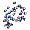 3mm preciosa tanzanite AB flatback rhinestones, purple, rhinestone, stone, preciosa, Czech, flatback, 3mm, 32 pieces, silver folded back, sparkle,  jewelry findings, B'sue Boutiques, jewelry supplies, purple ab rhinestones, 02050
