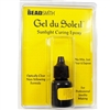 Gel de Soleil, Sunlight Curing Epoxy, non yellowing formula, jewelry making supplies, finishing supplies, 04012
