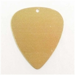 Brass Stampings, Brass Blank, Guitar Pick Blank,