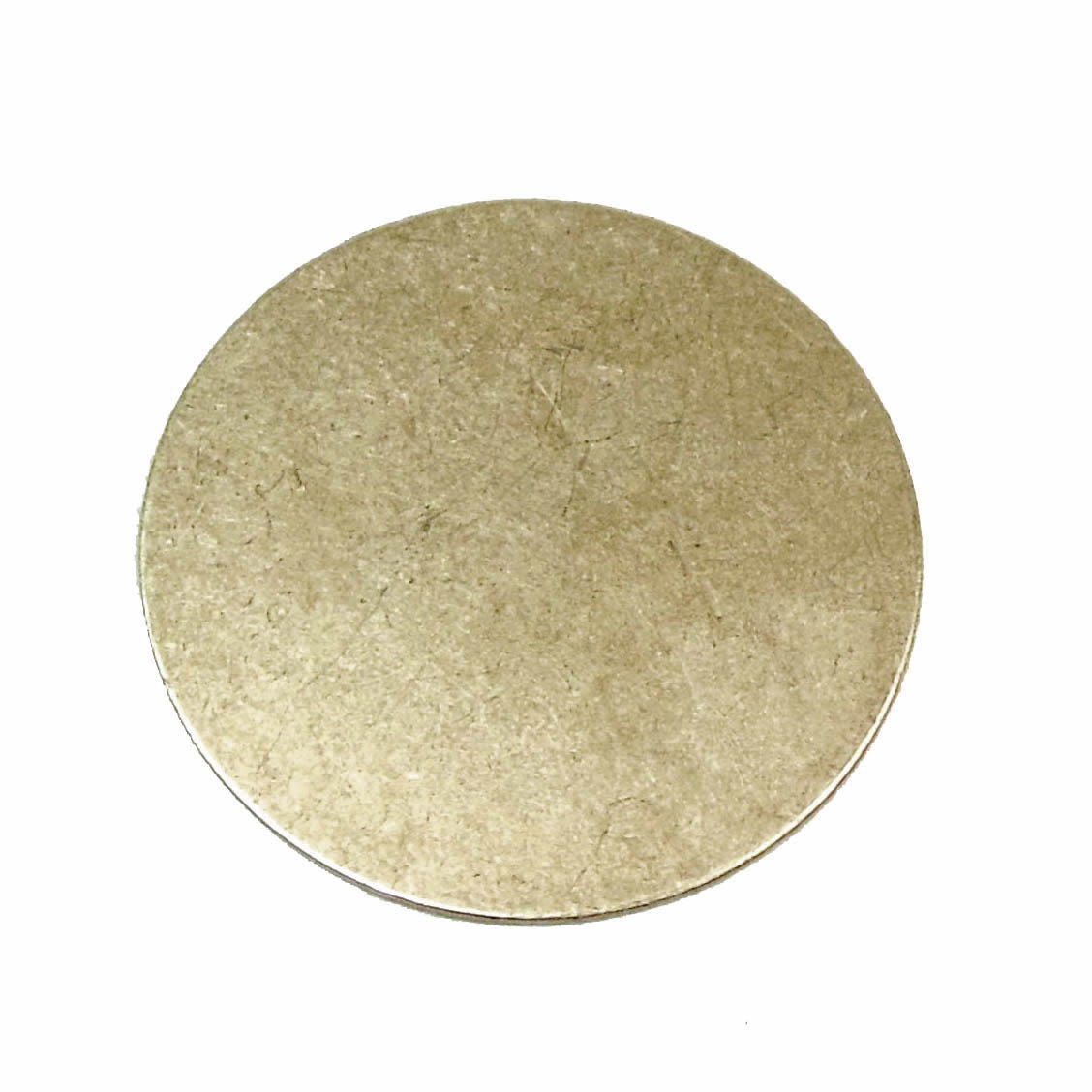 brass jewelry base, drilled base, brass ox, 02138, B'sue Boutiques, nickel free jewelry, US made jewelry, vintage jewellery supplies, jewelry making supplies, antique brass, brass blanks, round jewelry blanks,