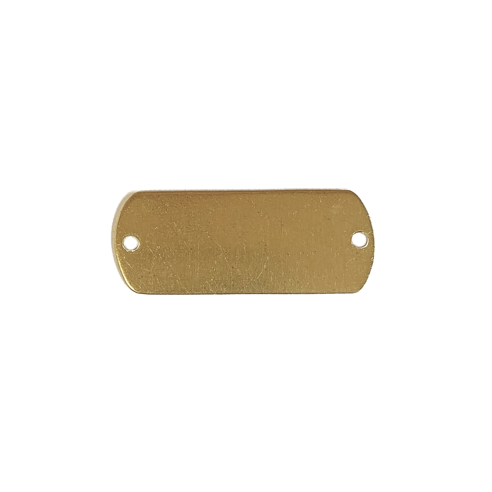 brass base, brass connector, jewelry supplies, drilled connector, drilled base, brass stampings, jewelry making supplies,B'sue Boutiques, US-made, nickel-free, bracelet connector, rectangular connector, connector, jewelry connector, jewelry supplies,02504