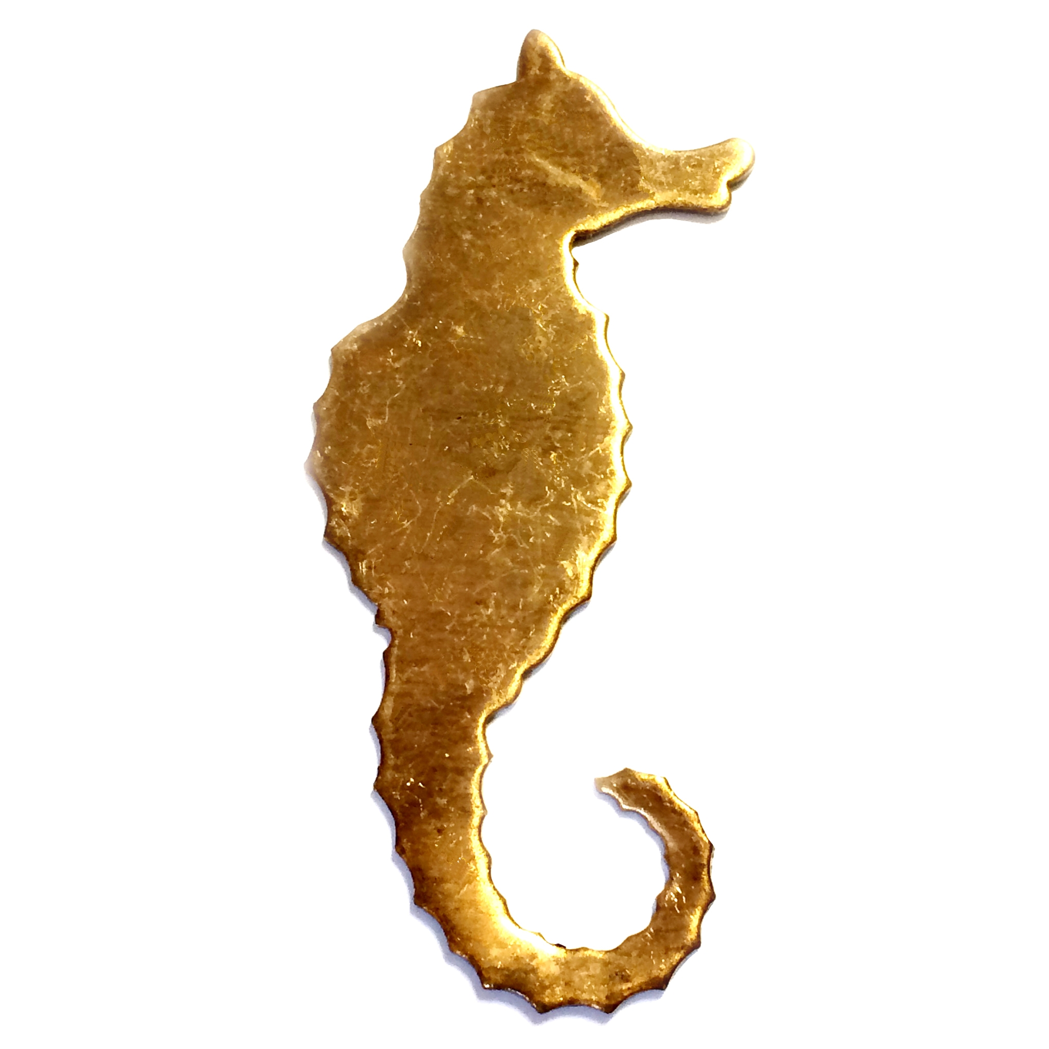 brass seahorse, beach jewelry,  jewelry making, 03208, B'sue Boutiques, nickel free, US Made, jewelry supplies, jewelry making, vintage jewelry supplies, brass jewelry parts, mold making jewelry