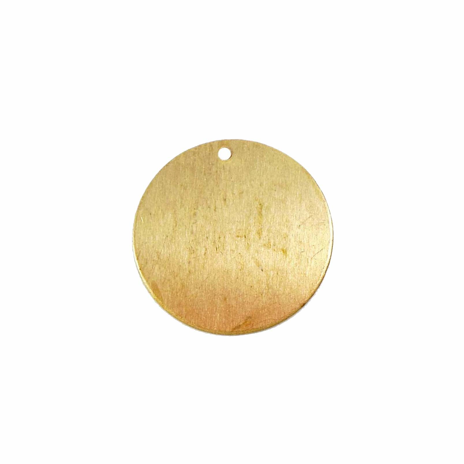brass base, brass pendant, raw brass, 22mm, circle base, round base, round blank, blank, circle blank, brass blank, jewelry supplies, Bsue Boutiques