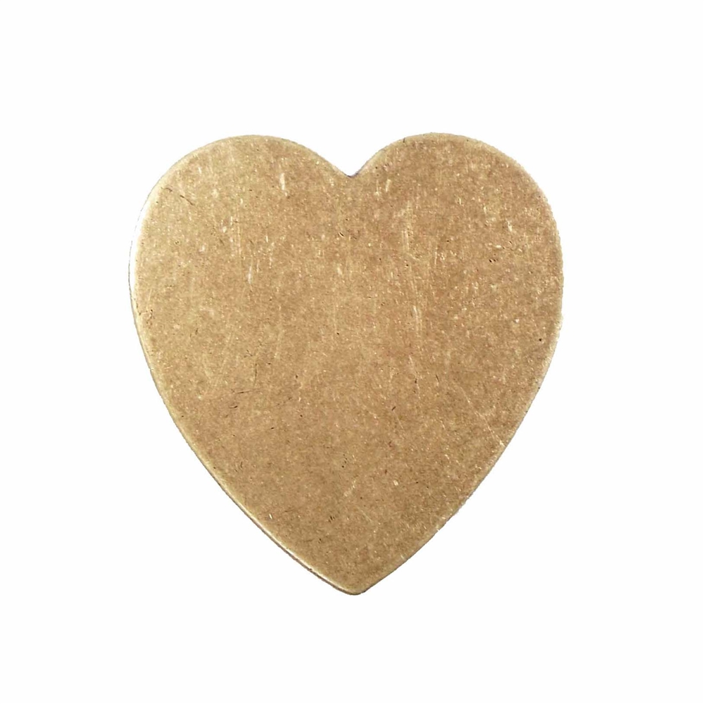 brass jewelry base, heart base, brass ox, 04239, drilled base, B'sue Boutiques, nickel free jewelry, US made jewelry, vintage jewellery supplies, jewelry making supplies, antique brass, brass blanks, heart jewelry blanks