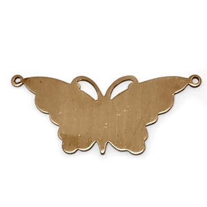 brass butterflies, jewelry making, butterfly pendant, butterfly base, raw brass, vintage jewelry supplies, US Made, nickel free jewelry supplies, Bsue Boutiques, 04355