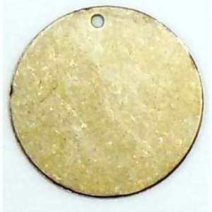 brass jewelry base, drilled base, brass ox, 04475, B'sue Boutiques, nickel free jewelry, US made jewelry, vintage jewellery supplies, jewelry making supplies, antique brass, brass blanks, round jewelry blanks,