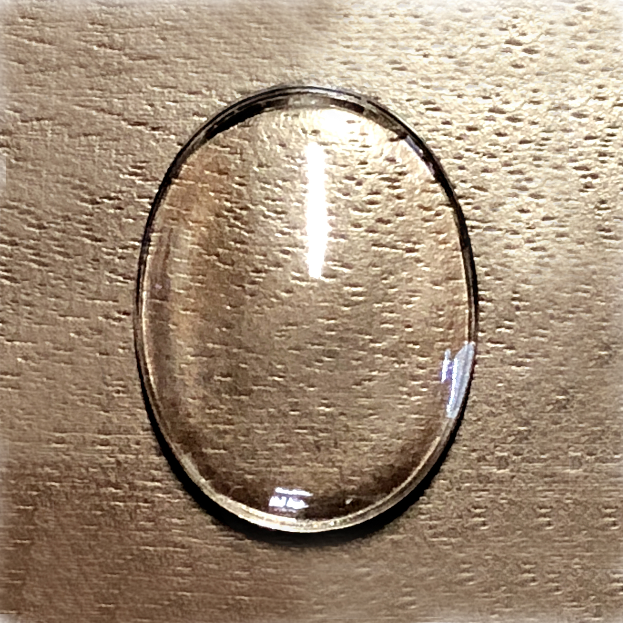 concave lens, plastic bubble lens, clear, 04868, concave bubble lens, jewelry making supplies, plastic lenses, 40x30mm lenses, jewelry making, vintage jewelry supplies, clear bubble lenses