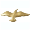 brass bird, bird base, bird stamping, 04997, brass ox, antique brass, bird blank, vintage jewelry supplies, jewelry making supplies, bird jewelry, bsue boutiques, US made jewelry supplies, nickel free jewelry supplies,