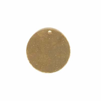 Brass Blank, charm base, jewelry supplies,22mm