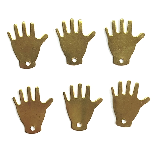 Brass Stampings, Brass Blanks, Hand Blanks, 07551, blank, hand blank, hand charm, brass charms, charms, raw brass, unplated brass, Bsue Boutiques, jewelry supplies, jewelry making