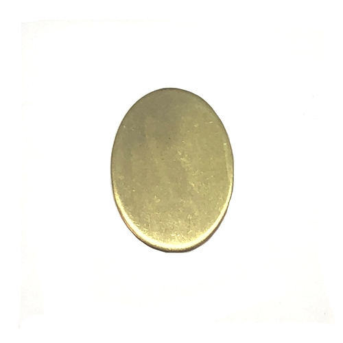 brass jewelry blanks, oval jewelry blank, 07678, B'sue Boutiques, nickel free jewelry, vintage jewellery supplies, jewelry making supplies, pendant base, brass blanks, raw brass jewelry blanks,  antique brass jewelry blanks,  college jewelry base