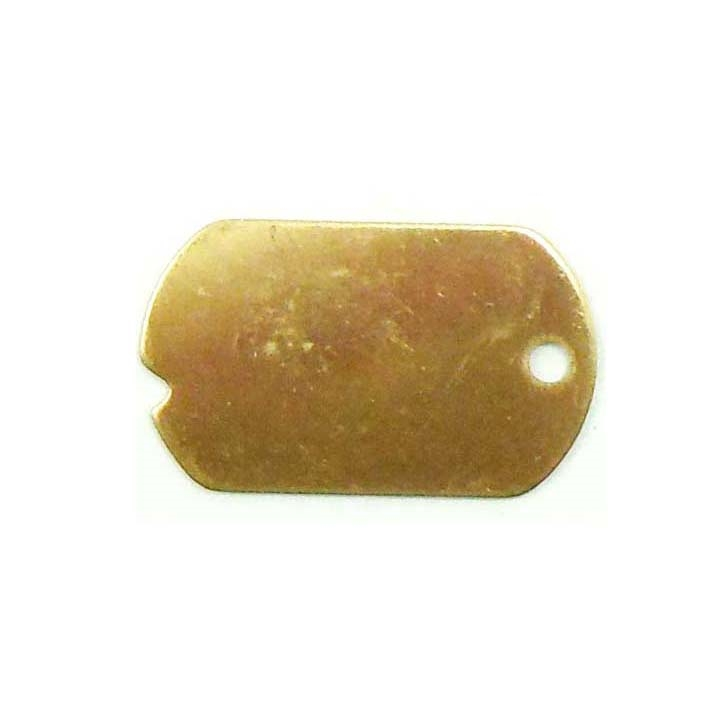 brass blank, dog tag pendants, jewelry making