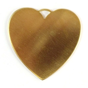 brass jewelry base, heart base, raw brass 08544, drilled base, B'sue Boutiques, nickel free jewelry, US made jewelry, vintage jewellery supplies, jewelry making supplies, antique brass, brass blanks, heart jewelry blanks