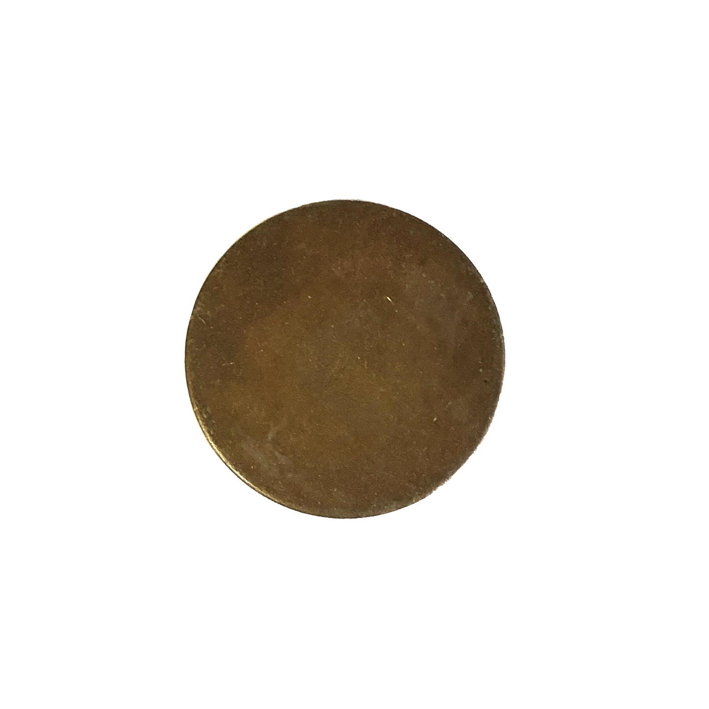 jewelry blank, round base, chocolate brass, B'sue Boutiques, nickel free, US made, vintage supplies, jewelry making, jewelry supplies, brass blanks, round jewelry blanks, round, base, brass, jewelry findings, 22mm, round blank, 09966
