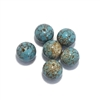 Vintage Glass Beads, Cherry Brand, 01026, turquoise beads, turquoise blended beads, beading supplies, vintage jewelry supplies, jewelry making supplies, bsueboutiques, glass beads, vintage beads, cherry brand beads